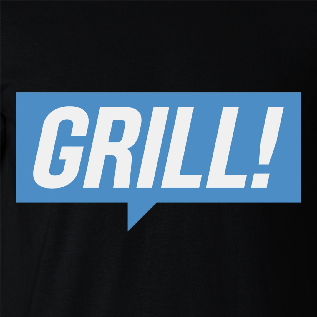 Alternative photo: GRILL Blue T-Shirt