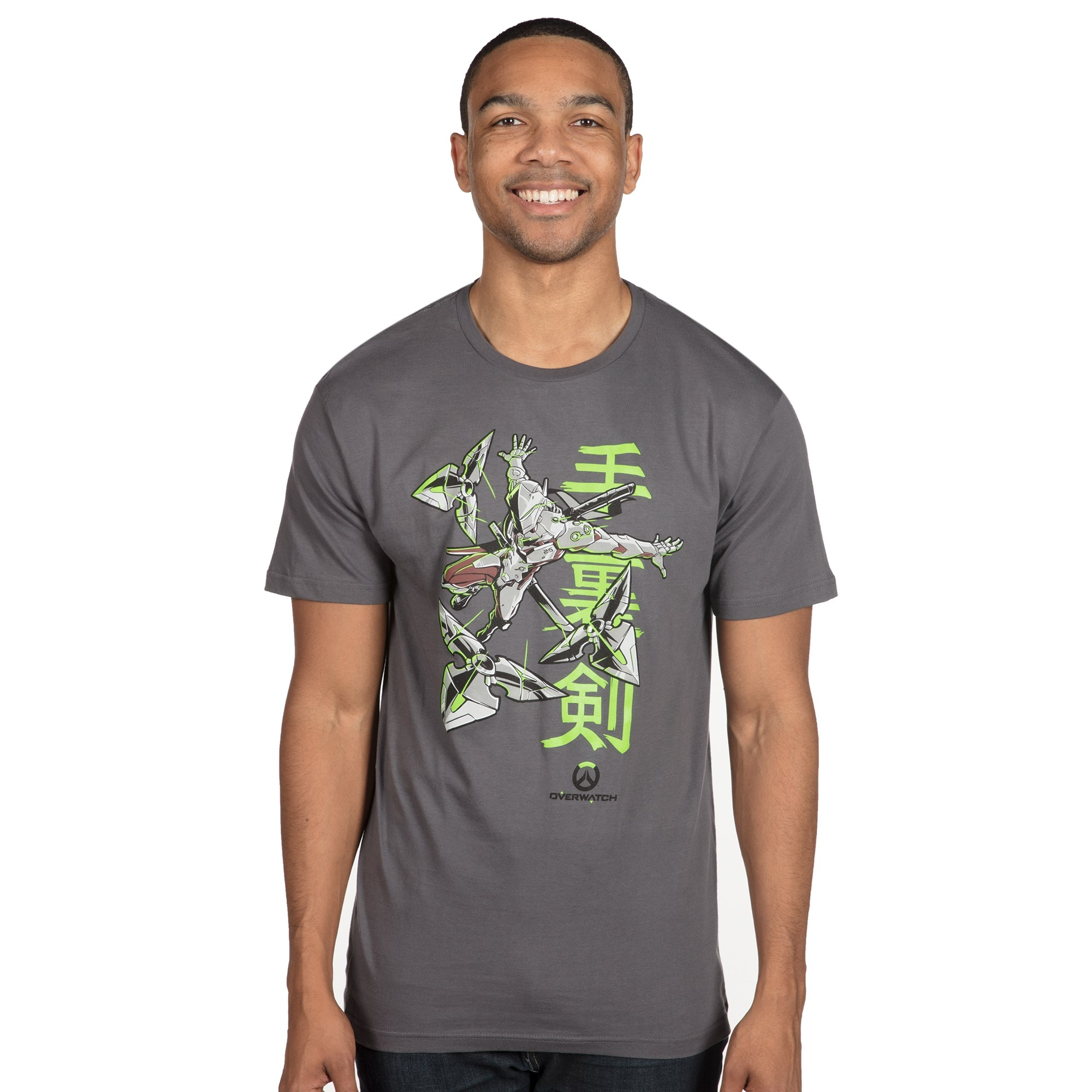 Alternative photo: Overwatch Genjis Warrior Spirit T-Shirt