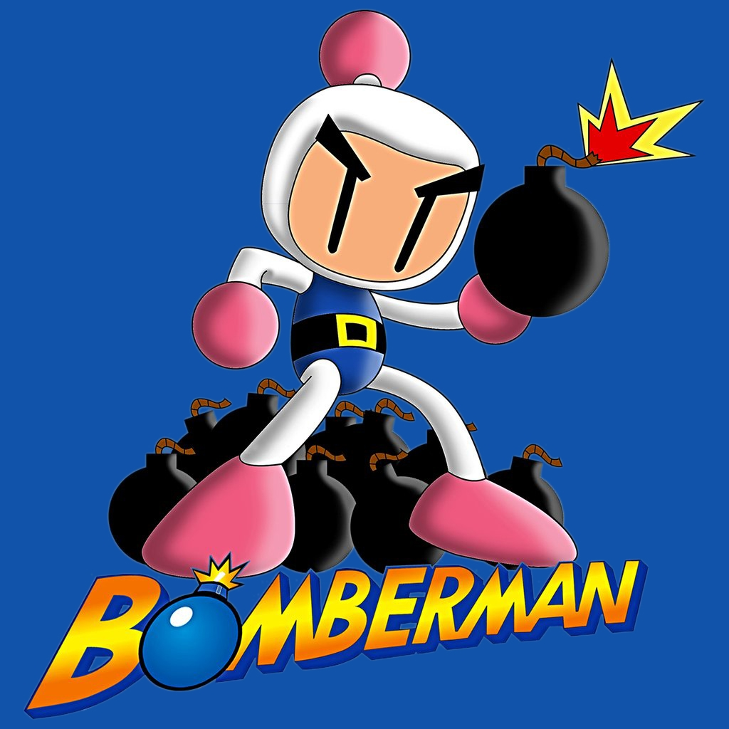 Alternative photo: Bomberman T-Shirt