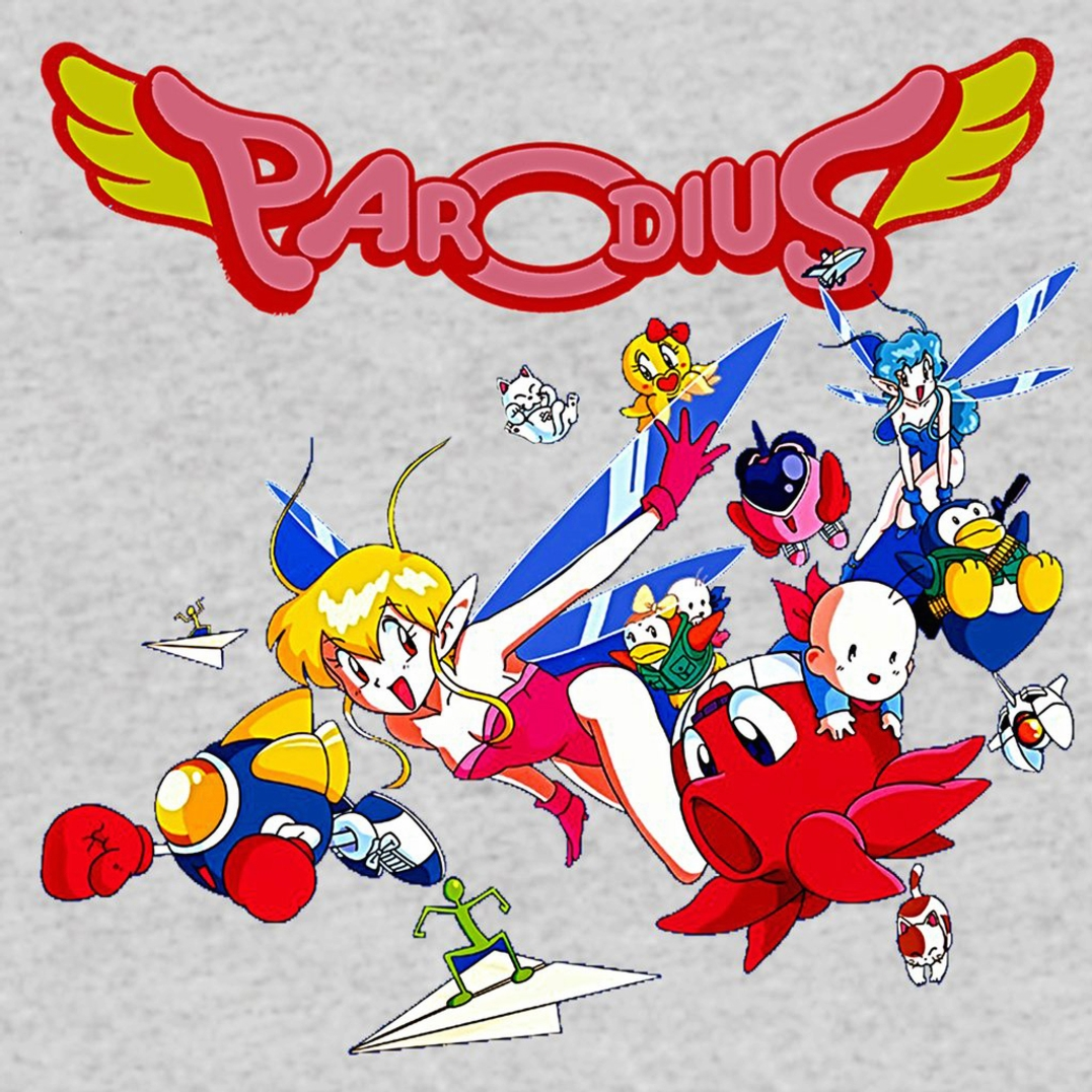 Parodius Box Art T-Shirt