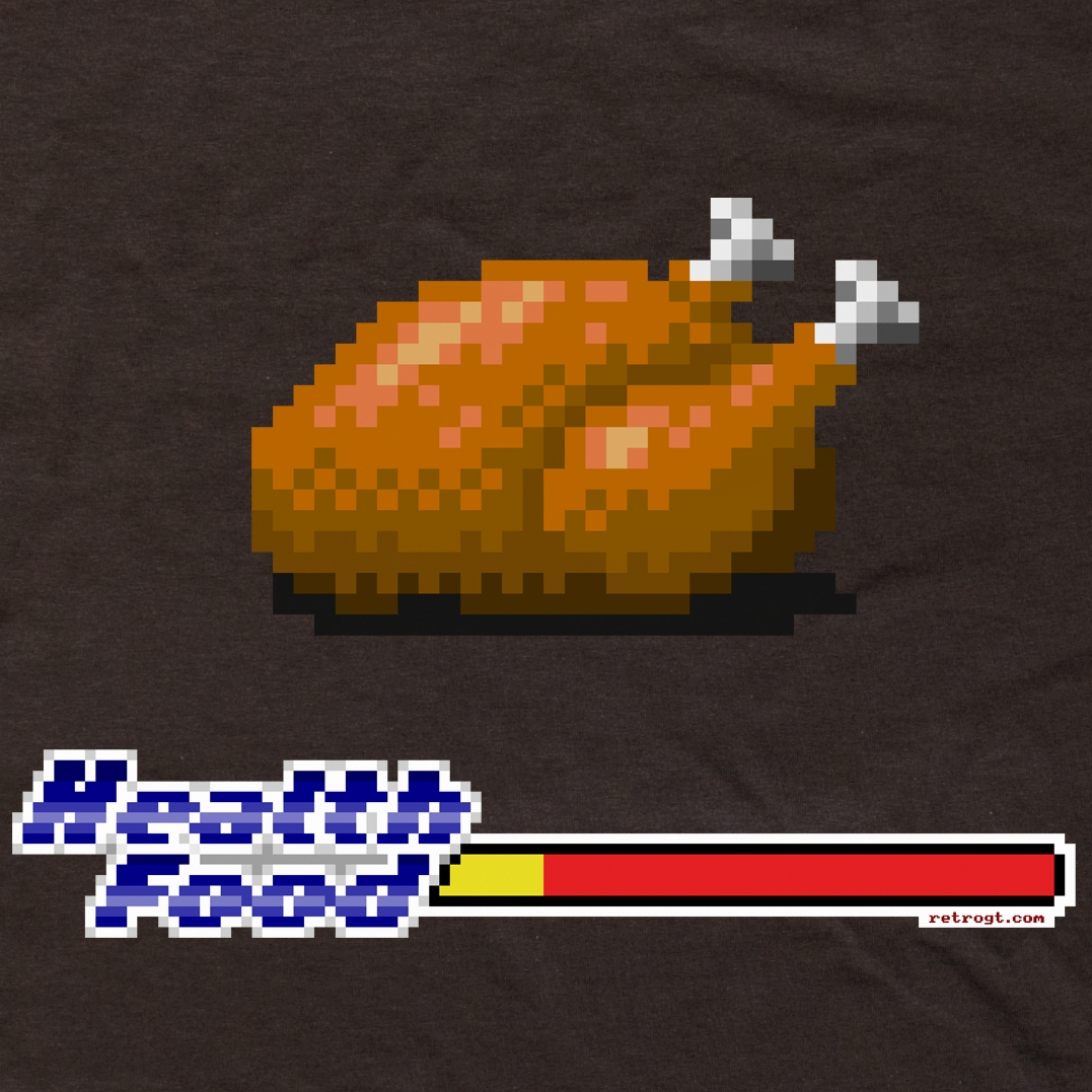 Alternative photo: Health Food Chicken T-Shirt