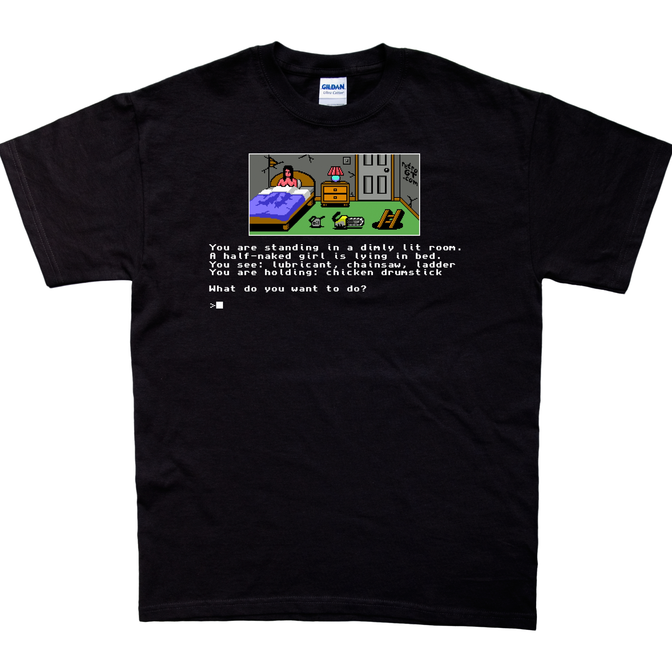Photograph: Text Adventure T-Shirt