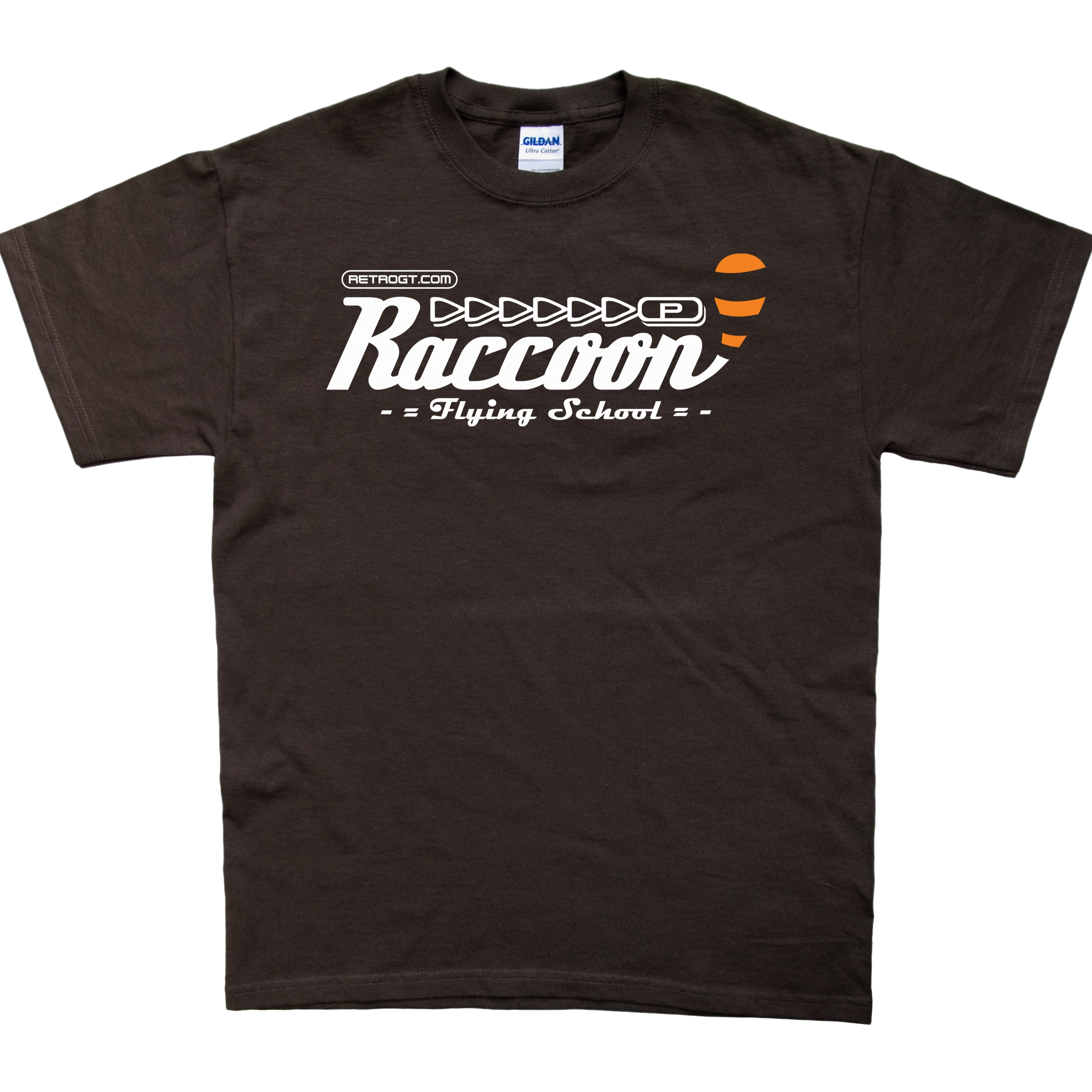 Raccoon Flying School T-Shirt