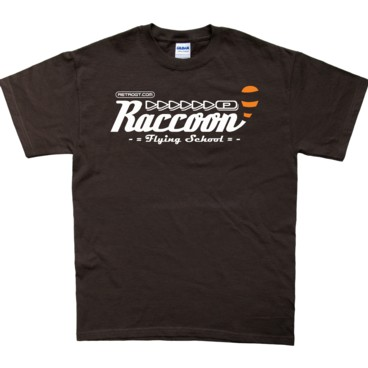 Photograph: Raccoon Flying School T-Shirt