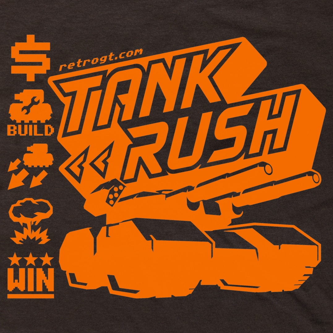 Alternative photo: Tank Rush T-Shirt
