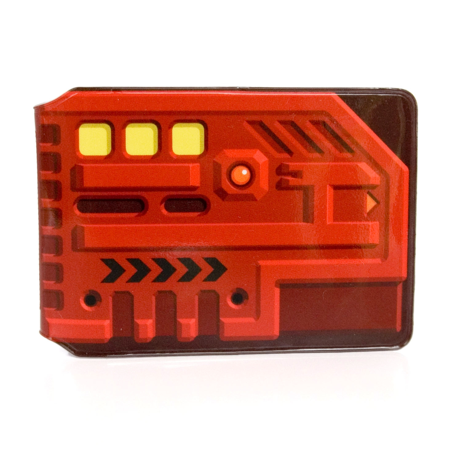 Red Key Card Travel Card Holder