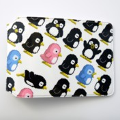 Penguins Travel Card Holder