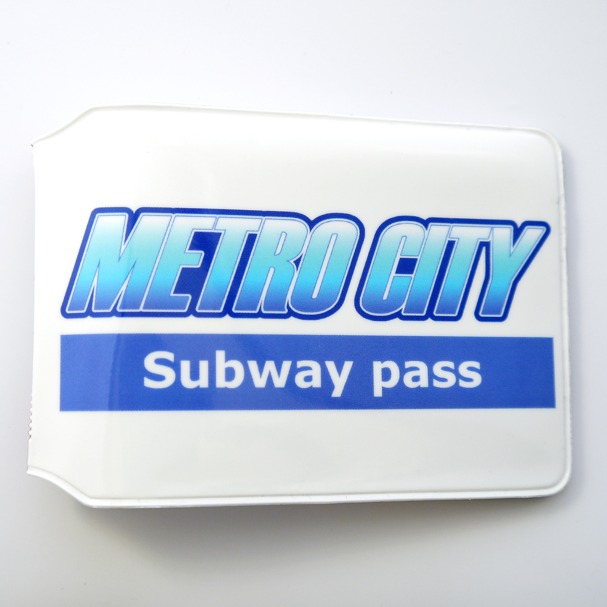 Metro City Travel Card Holder