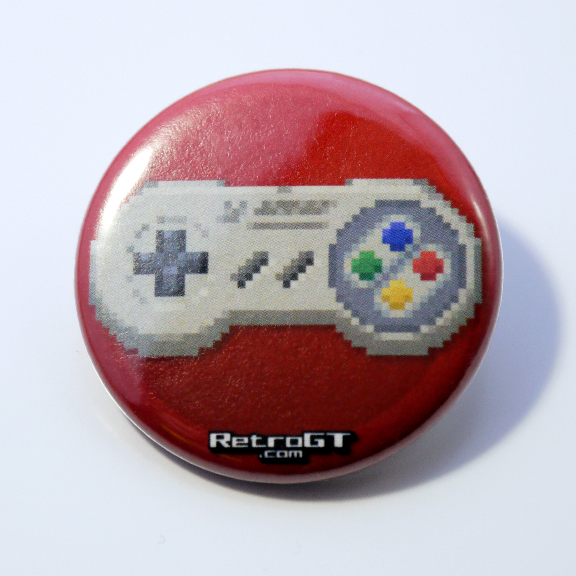 Alternative photo: Super Controller Pin Badge 38mm