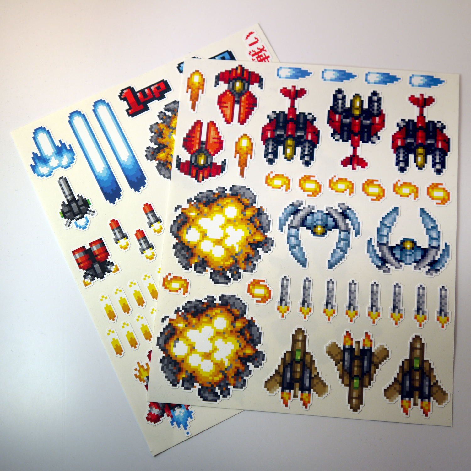 Alternative photo: Hyper V-Battle Sticker Set