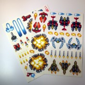 Hyper V-Battle Sticker Set