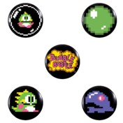 Bubble Bobble Badge Pack 1
