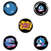 Bubble Bobble Badge Pack 2