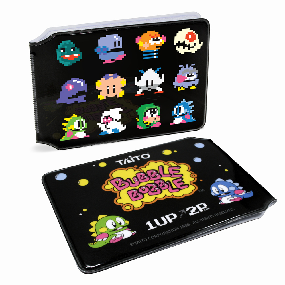 Photograph: Bubble Bobble ENEMIES! Card Holder