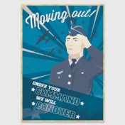 Retro Print: Moving Out